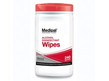 Medipal Alcohol Wipes 20gsm (195mm x 155mm) 70% IPA
