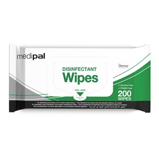 Medipal 3-in-1 Disinfectant Flow Wrap Wipes - CAW709